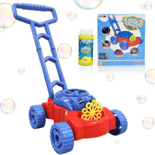 bubble machine lawn mower for toddlers