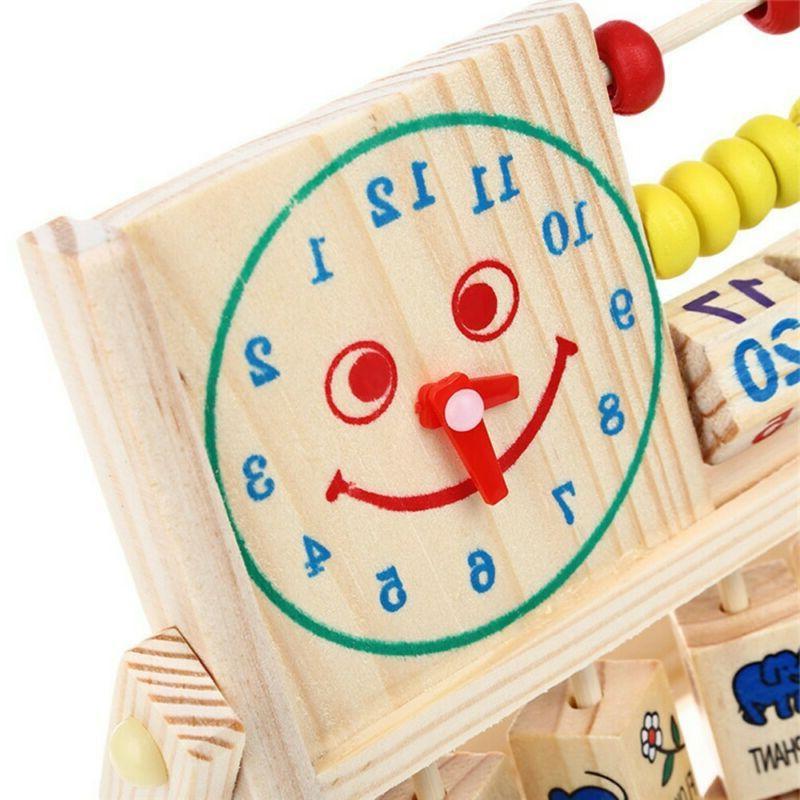 Kids Baby Education Math Developmental Versatile Flap Abacus