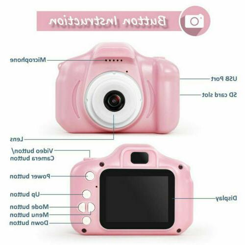 Children Gifts 8 7 6 3 Camera for 5 7