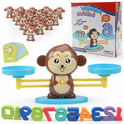 children kids monkey balance cool math game