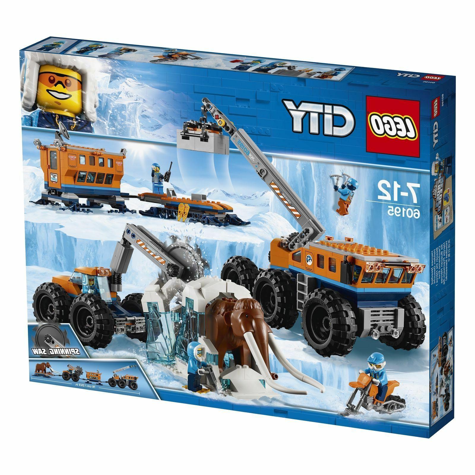 city arctic mobile exploration base