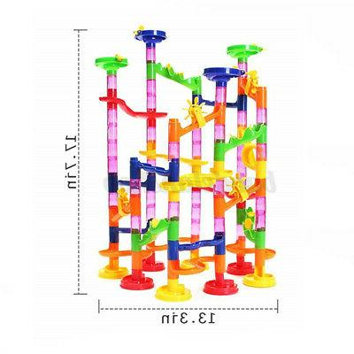 Developmental Track Ball Building Blocks Marble Run