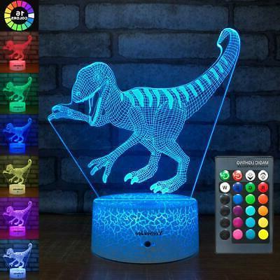dinosaur toys night lights for kids