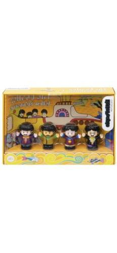 Fisher-Price The Beatles Yellow Submarine by Little People M