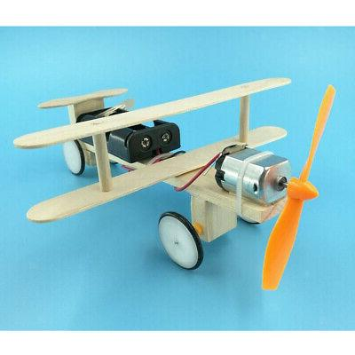 kids diy model kit vehicle educational scale