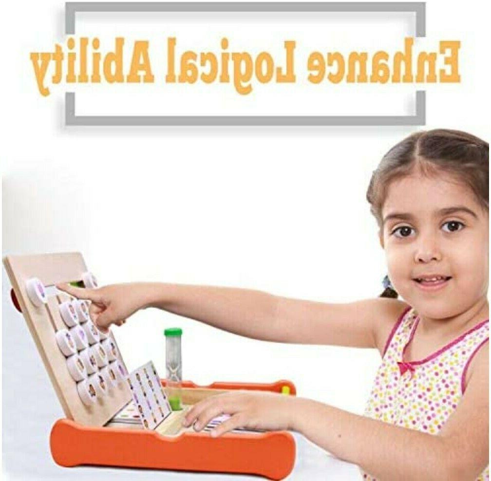 Kids Montessori Animals and Wooden Family
