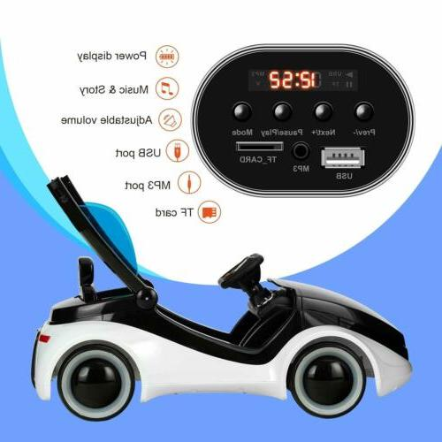 Kids Cars Electric Motorized with RC White