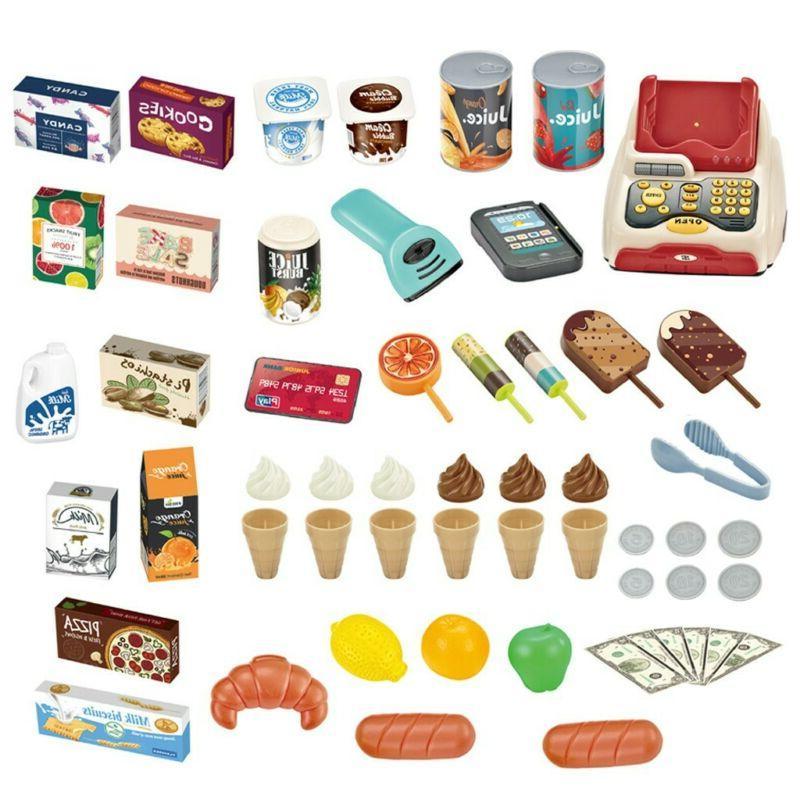 Kids Ice Shop Toy Set Gift