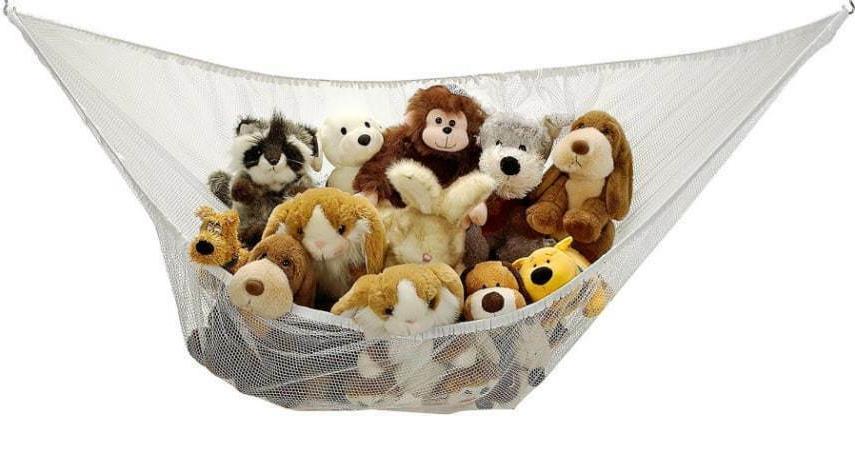 kids toy hammock corner net for stuffed