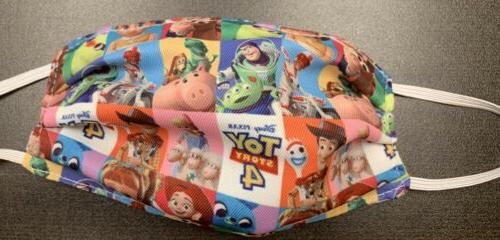 kids toy story fabric reusable face mask