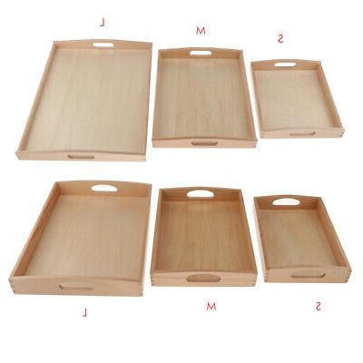 kids toys montessori materials wooden toys tray