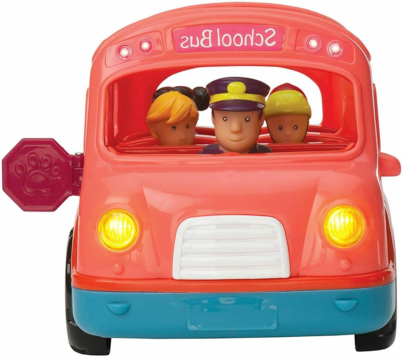 light sound school bus