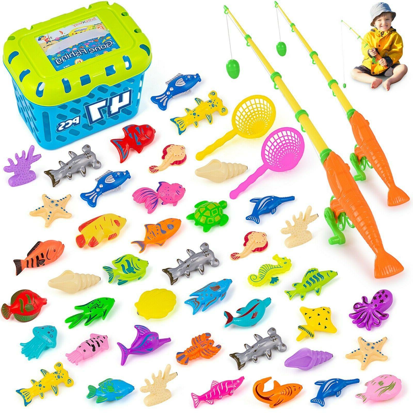 magnetic fishing game 47 pcs kids toys
