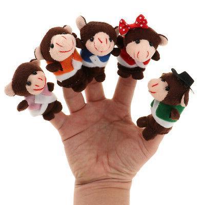 MagiDeal Monkeys Finger Kids Toys for