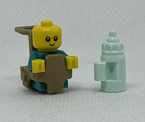 NEW LEGO Teal Bottle Minifigure Mini
