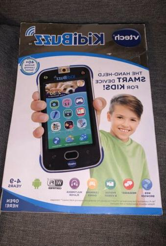 new kidibuzz hand held smart device