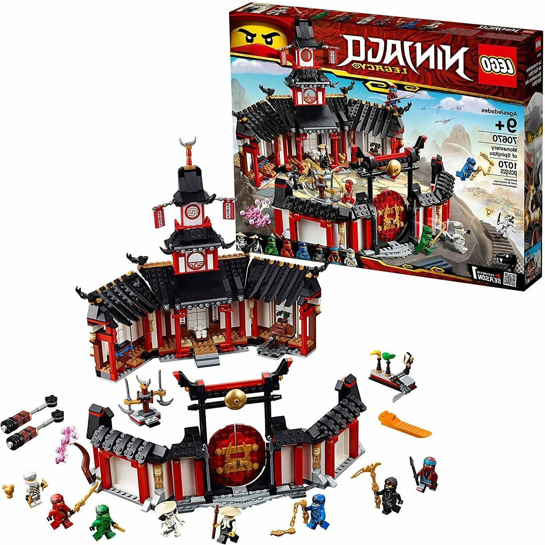 new ninjago legacy monastery of spinjitzu 70670