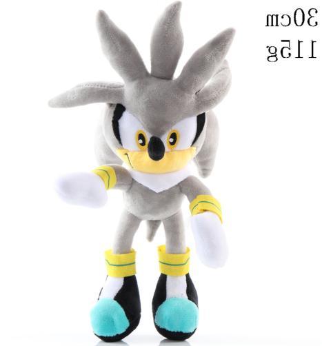 new silver sonic hedgehog kids cartoon soft
