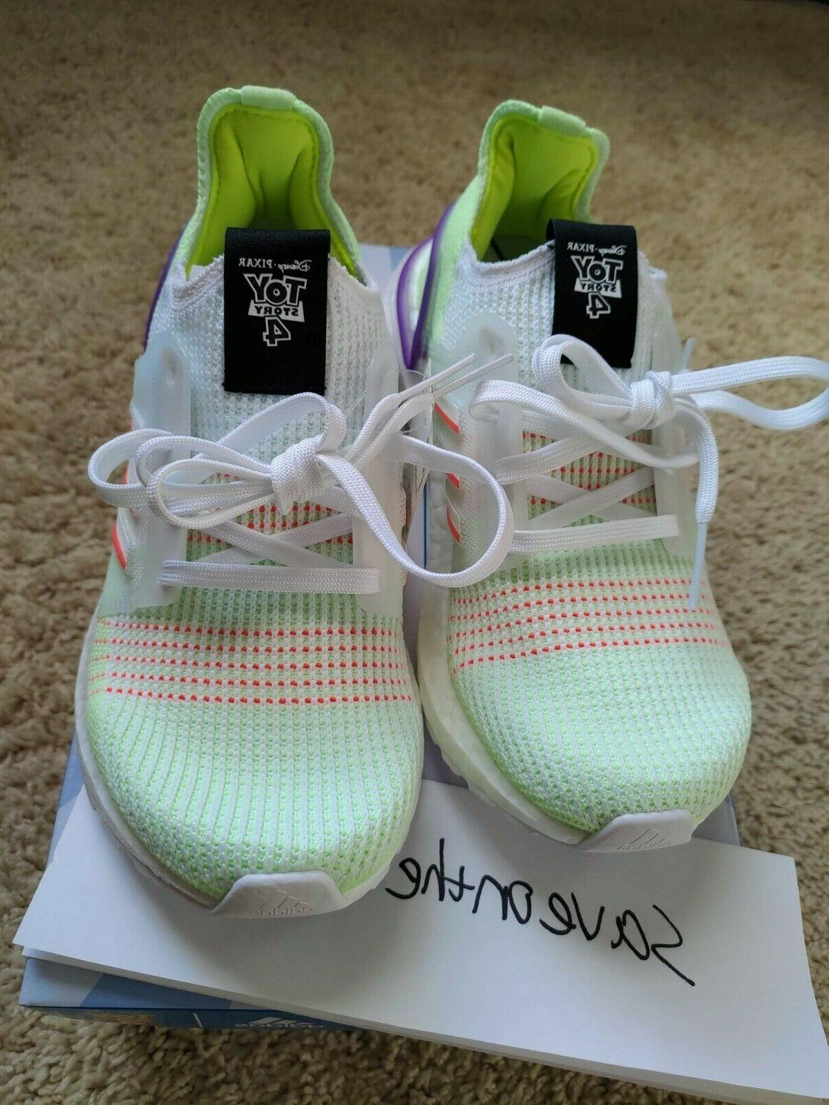 New Ultraboost Disney Toy Story Buzz Shoes Kids Size GS 4Y
