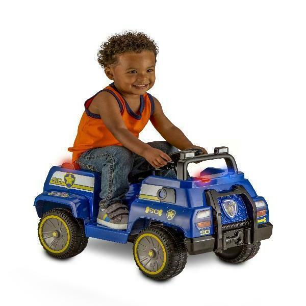 nickelodeon s paw patrol chase toddler ride