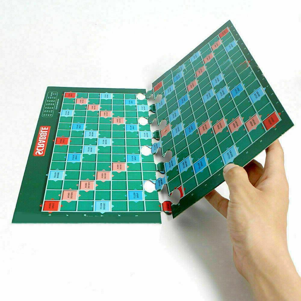 Original Scrabble BOARD Game Family Edition Toys Puzzle