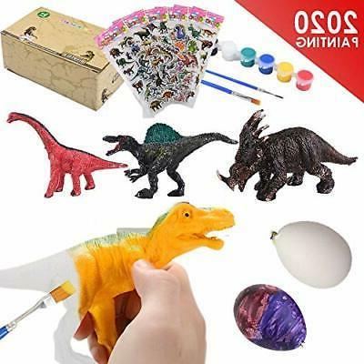 painting dinosaur kit for kids crafts