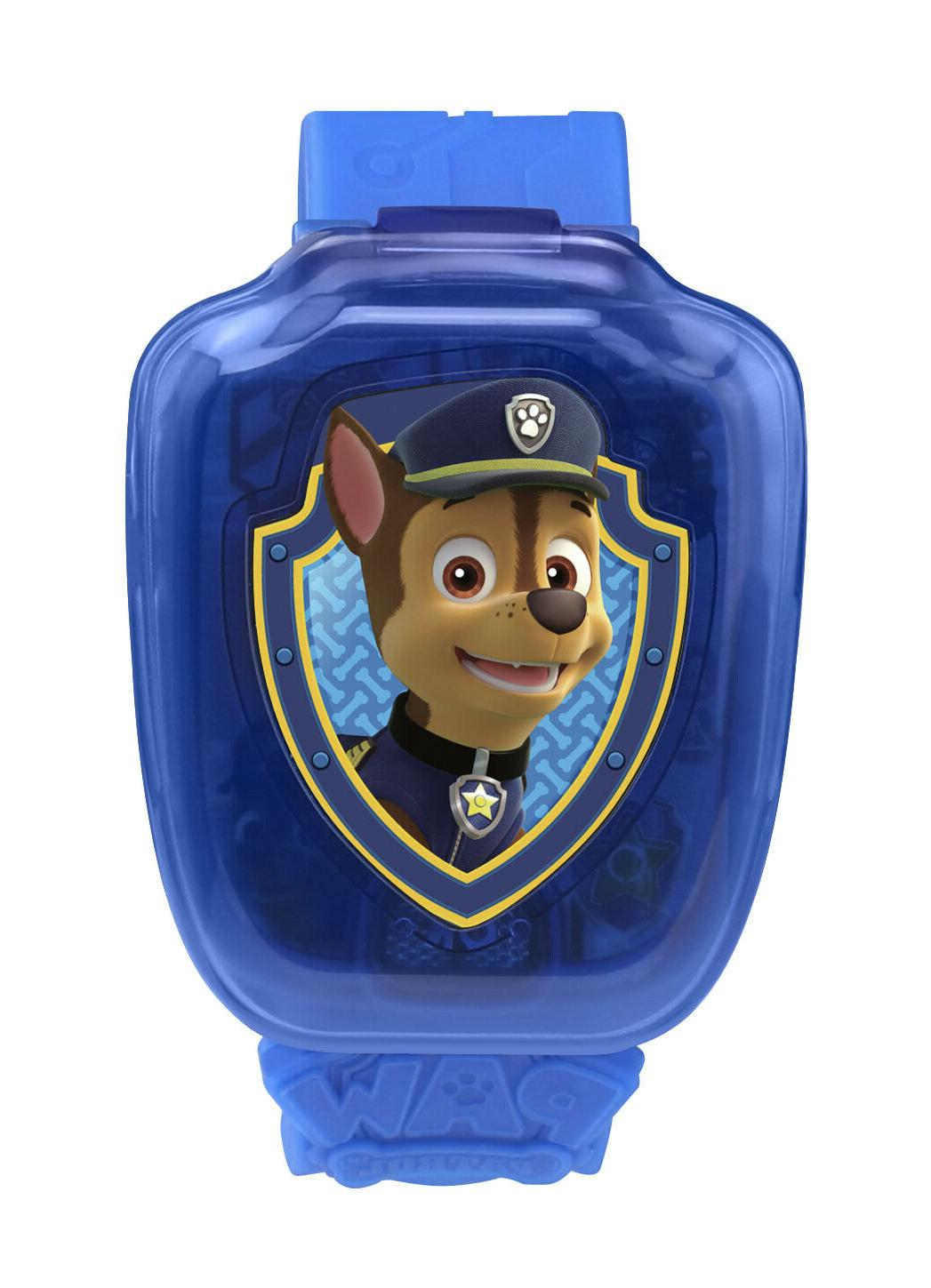 paw patrol chase blue learning watch nick