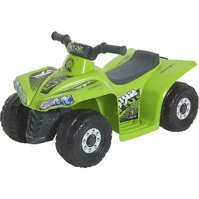 Ride On Electric Quad ATV 1 2 Old Kids Volt Green