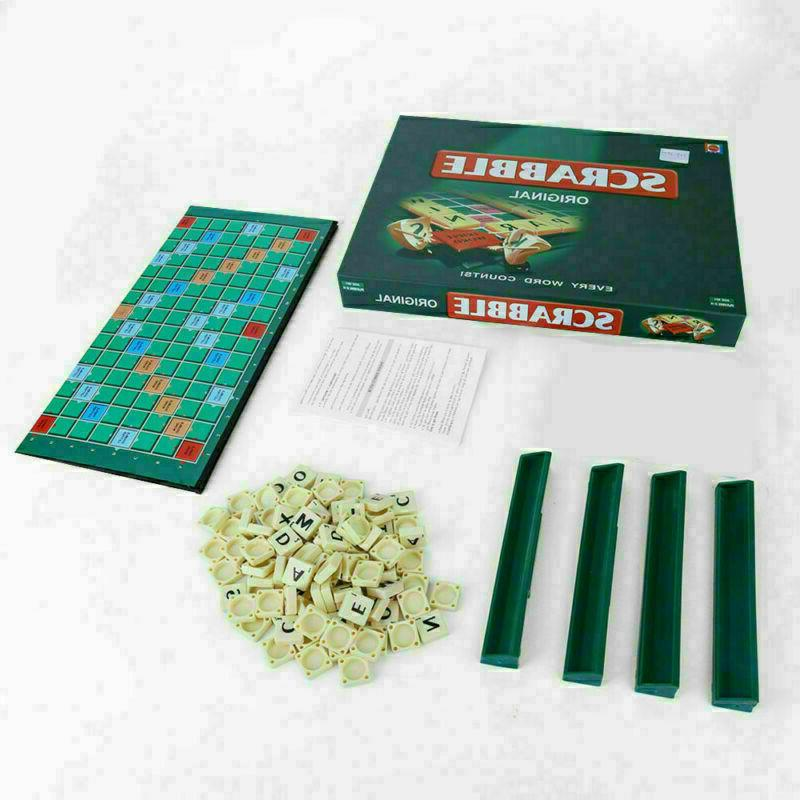 Original Scrabble Family Kids Edition Words Toys