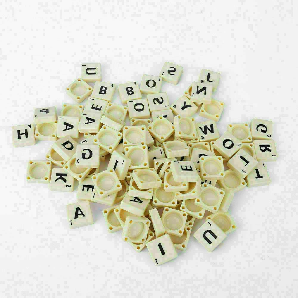 Original Scrabble BOARD Family Kids Edition Toys