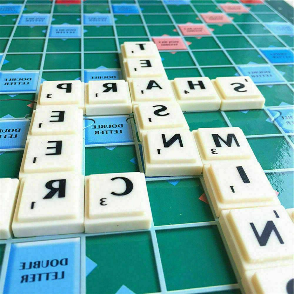 Original Scrabble BOARD Family Kids Toys