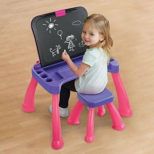 VTech Touch Activity Desk Deluxe, Pink