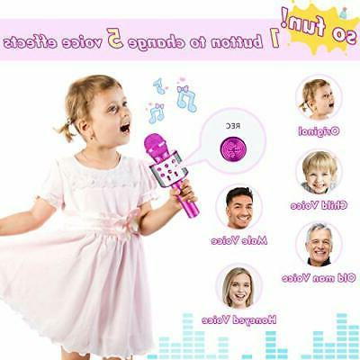 Toys for Year Old Portable Karaoke