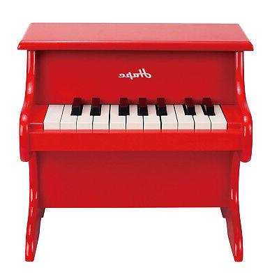 toys playful piano red wooden happy grand