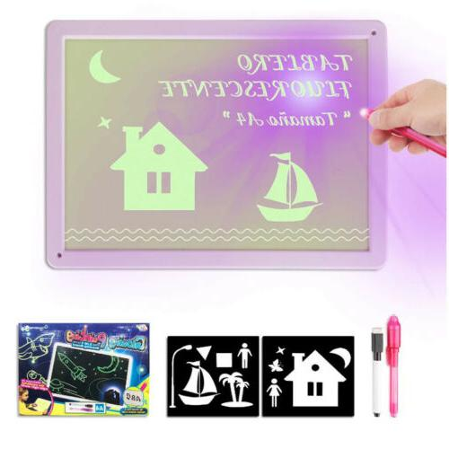 US Light Developing Toy Writing Educational Kids Gift