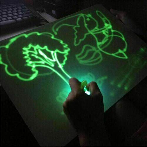 US Magic Light Fun Developing Toy Writing Educational Kids Gift