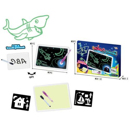 US Magic Draw Light Writing Educational Gift