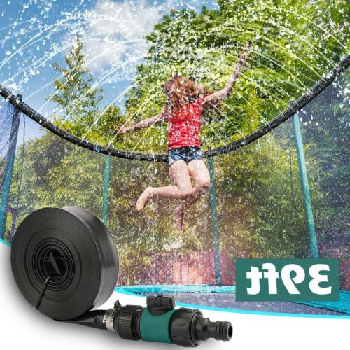 water sprinkler pipe for outdoor waterpark trampoline