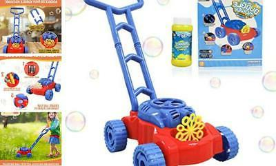 whizbuilders bubble machine lawn mower for toddlers