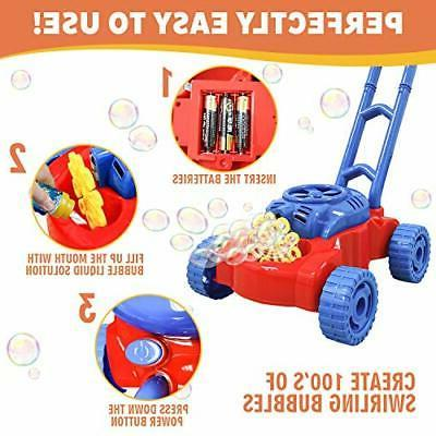 Bubble Machine for Toddlers Age Giant