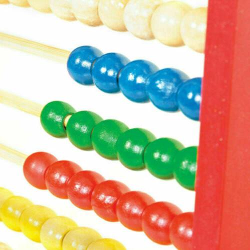Wooden Bead Abacus Counting Frame Maths Gift
