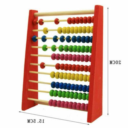 Wooden Frame Childrens Kids Maths