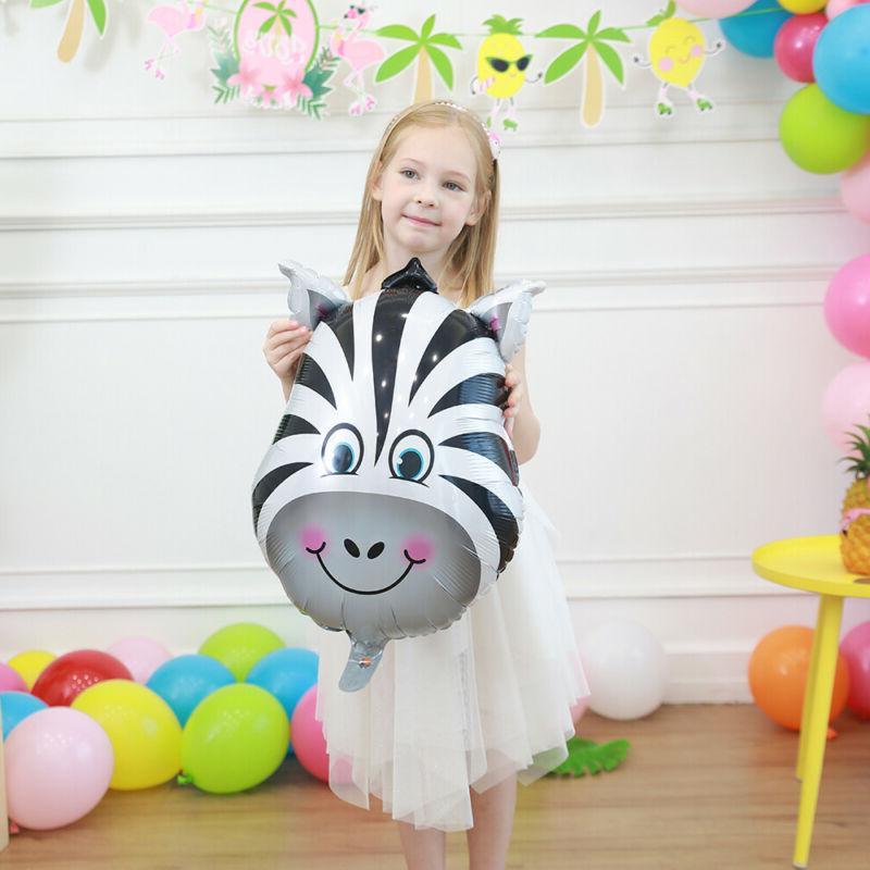 Zoo Balloon Safari Jungle Animal Head Inflatable