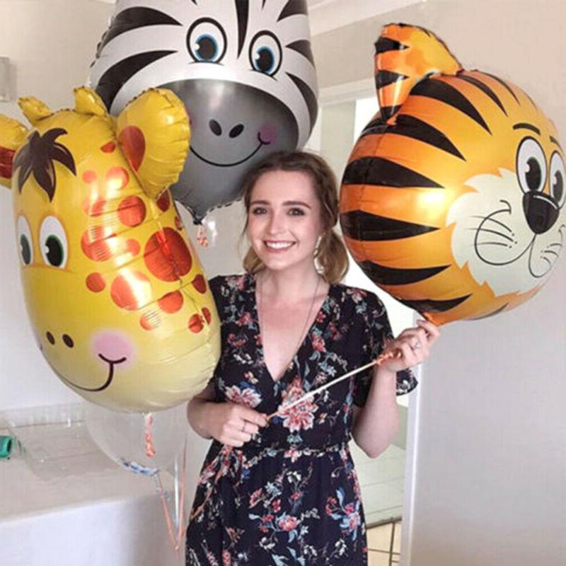 Zoo Theme Balloon Head Inflatable Toys