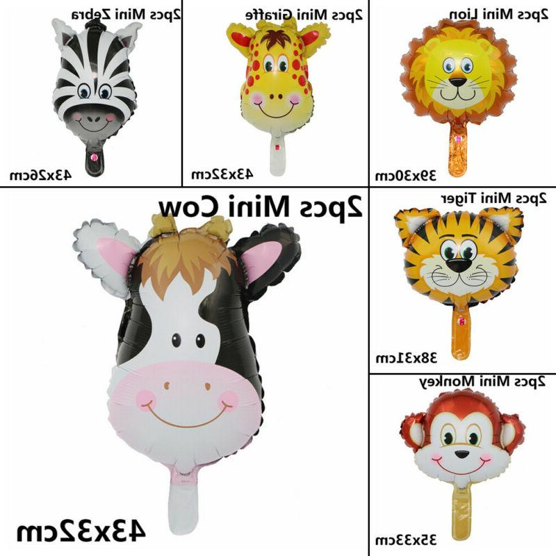 Zoo Theme Cartoon Balloon Head Toys