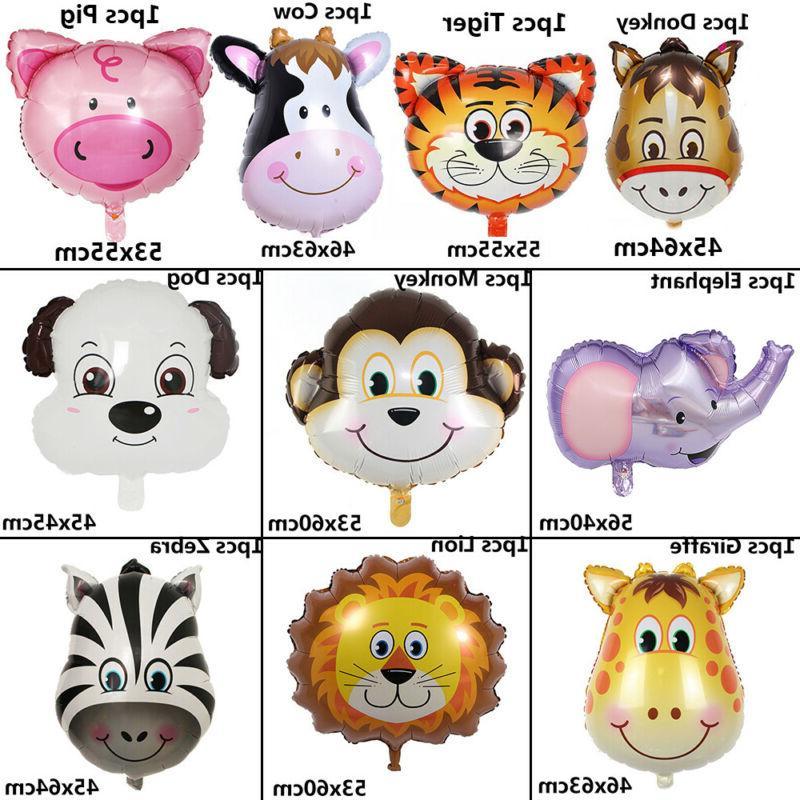 Zoo Theme Balloon Safari Head