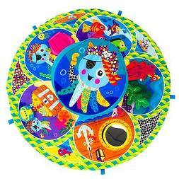 Tomy LAMAZE SPIN AND EXPLORE GARDEN GYM Toy Kids Fun