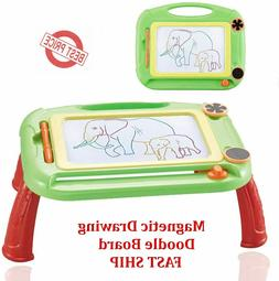 Large Doodle Kids Magnetic Drawing Board Erasable Pad Girls