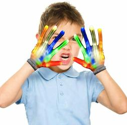 LED Gloves for Kids, Cool Fun Toys for 4 5 6 7 8 9 10 Year O