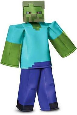 Licensed Minecraft Zombie Prestige Toys Video Games Costume